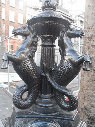 Hippocampus (mythology) - Hippocampuses in Dublin, Ireland.