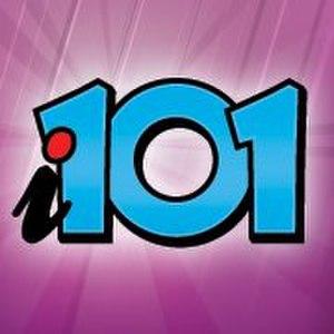 """WKQX (FM) - Logo for """"i101"""" (c. 2012-2014)"""