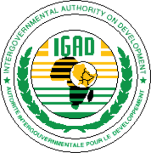 Intergovernmental Authority on Development - Image: Igadseal