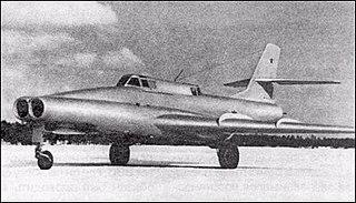 Ilyushin Il-40 ground attack aircraft
