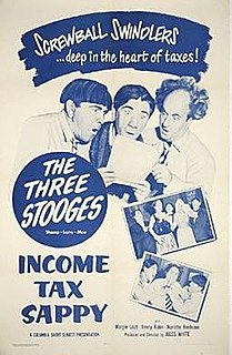 <i>Income Tax Sappy</i> 1954 film by Jules White