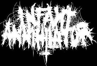 Infant Annihilator English/American deathcore band