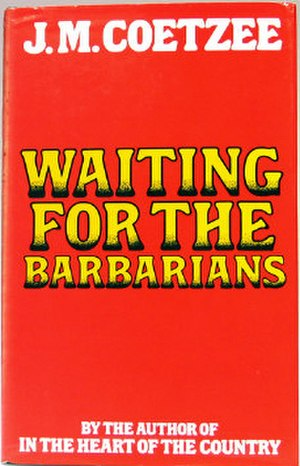 Waiting for the Barbarians - First edition cover
