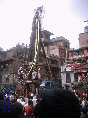Jana Baha Dyah Jatra - Image: Janmaadya