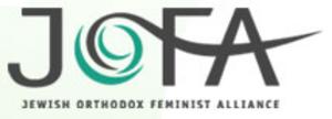 Jewish Orthodox Feminist Alliance - JOFA's logo, evoking the waters of Miriam's well