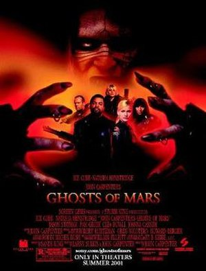 Ghosts of Mars - US Theatrical release poster