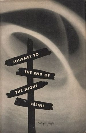 Journey to the End of the Night - Cover of the book which was printed in 1960