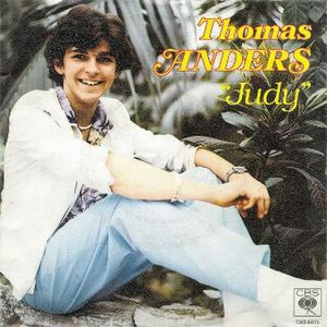 Judy (Thomas Anders song) - Image: Judy T Anders