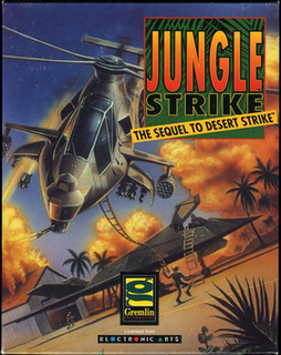 <i>Jungle Strike</i> 1993 video game