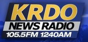 KRDO (AM) - Image: KRDO FM logo
