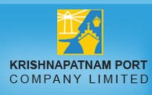 Krishnapatnam Port - Image: Krishnapatnamport logo