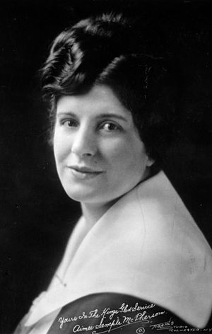 Aimee Semple McPherson - Sister Aimee (early 1920s)