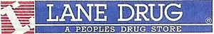 Lane Drug - Image: Lane Drug 80s Logo