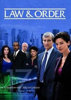 <i>Law & Order</i> (season 17) Season of television series