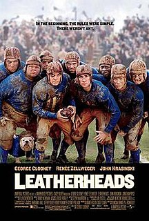 <i>Leatherheads</i> 2008 American sports comedy film directed by George Clooney