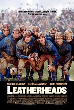 Leatherheads - Theatrical release poster