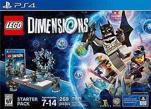 Lego Dimensions - PlayStation 4 cover art