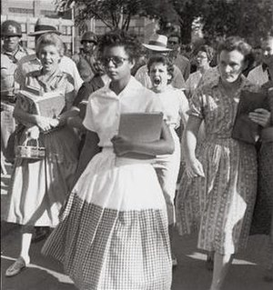 Elizabeth Eckford Part of the Little Rock Nine