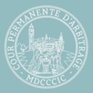 Foreign relations of Montenegro - Image: Logo of the Permanent Court of Arbitration, The Hague