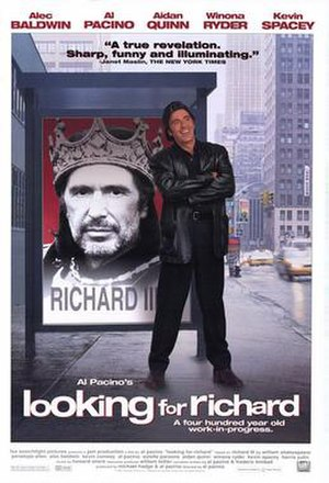Looking for Richard - theatrical release poster
