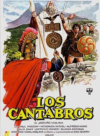The Cantabrians - Spanish theatrical release poster