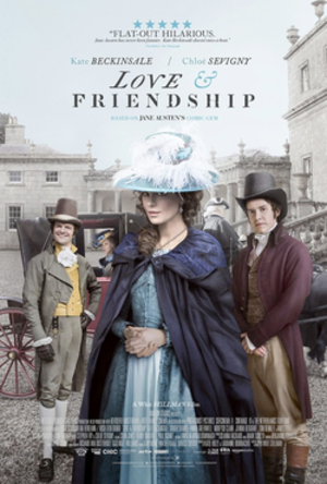 Love & Friendship - Theatrical release poster