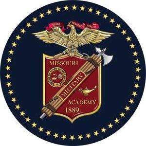 Missouri Military Academy - Missouri Military Academy Sesquicentennial Emblem