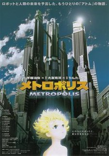 <i>Metropolis</i> (2001 film) 2001 anime film directed by Rintarō
