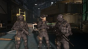Call of Duty: Modern Warfare Remastered - Image: Modern Warfare Remastered in game screenshot