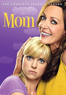 <i>Mom</i> (season 7) Season of American television series