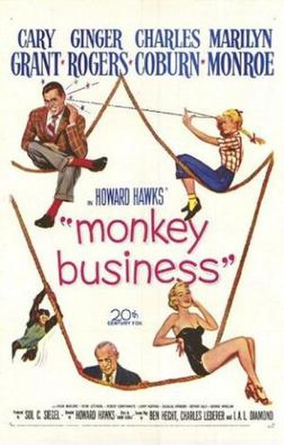 Picture of a movie: Monkey Business