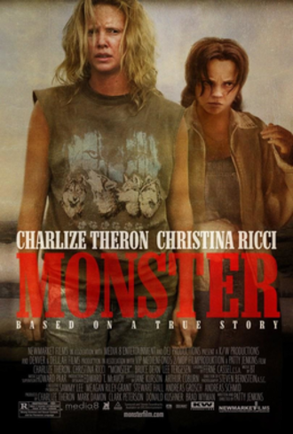 Monster (2003 film) - Theatrical release poster