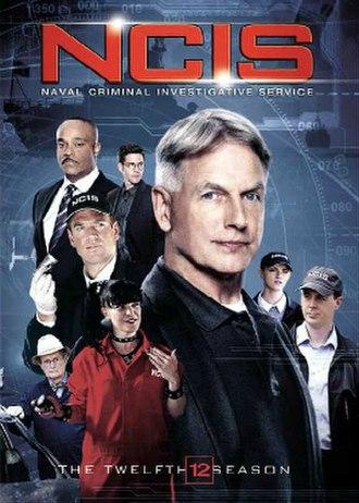 NCIS (season 12) - Season 12 U.S. DVD cover
