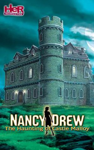 Nancy Drew: The Haunting of Castle Malloy - Image: Nancy Drew The Haunting of Castle Malloy Cover Art