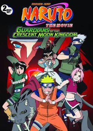 Naruto the Movie: Guardians of the Crescent Moon Kingdom - American DVD cover