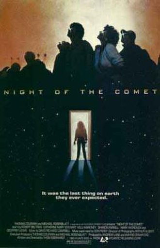 Night of the Comet - Original 1984 theatrical poster