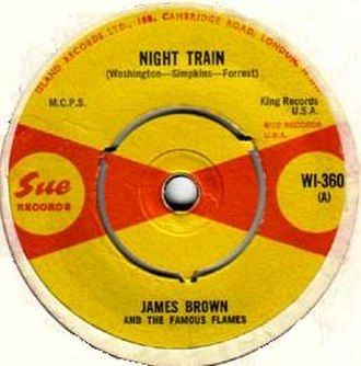 Night Train (Jimmy Forrest composition) - Image: Nighttrain JB