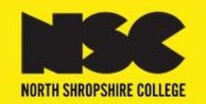 North Shropshire College - Image: North Shropshire College logo