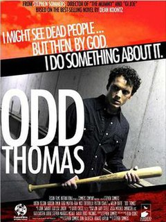 <i>Odd Thomas</i> (film) 2013 film by Stephen Sommers