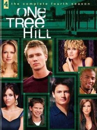 One Tree Hill (season 4) - One Tree Hill Season 4 DVD cover