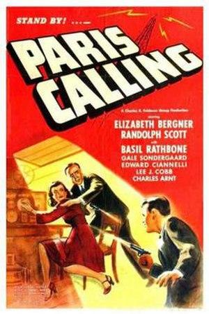 Paris Calling - Theatrical release poster