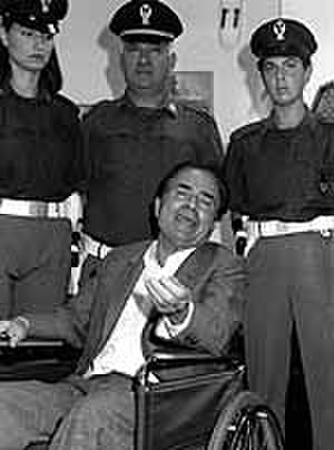 Cuntrera-Caruana Mafia clan - Pasquale Cuntrera arrested on Fiumicino airport near Rome in September 1992 after he was expelled from Venezuela.