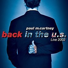 Live Album By Paul McCartney Released 11 November 2002