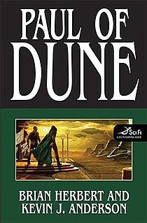 <i>Paul of Dune</i> novel by Brian Herbert and Kevin J. Anderson