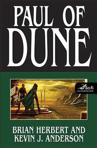 Paul of Dune - First edition cover