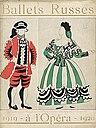 """Picasso's costume design for """"Le Tricorne"""" (1919-1920)"""