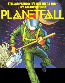 Planetfall cover art