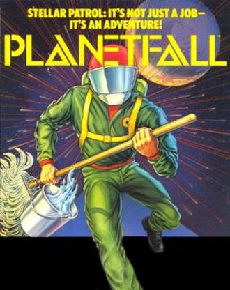 Planetfall - Image: Planetfall box art