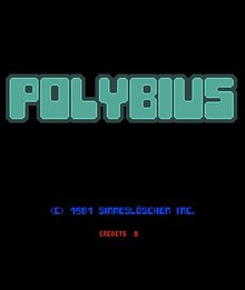 Polybius (urban legend) - Wikipedia