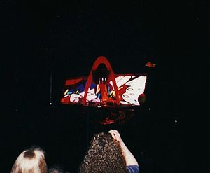 PopMart Tour - PopMart from seats at the far end of a venue.